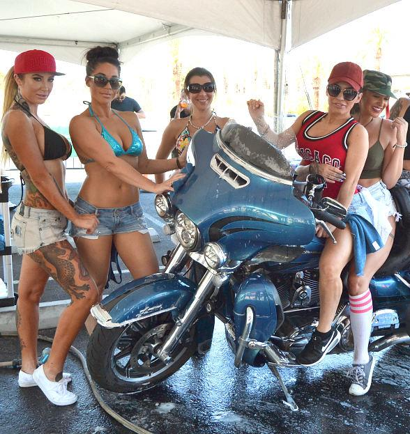 Crazy Horse III and Harley-Davidson Team Up to Host Bikini Bike Wash Fundraiser for Douglas J. Green Memorial Foundation