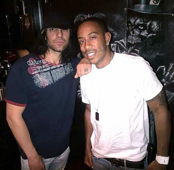 Ludacris Takes in a Night of Magic at CRISS ANGEL Believe by Cirque du Soleil