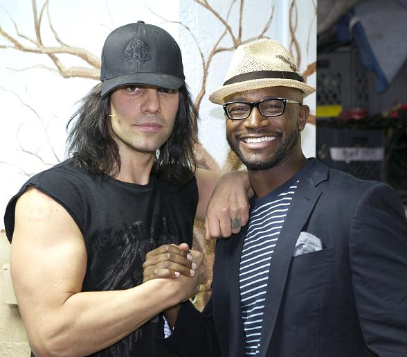 Taye Diggs Enjoys Boys Night Out at CRISS ANGEL Believe