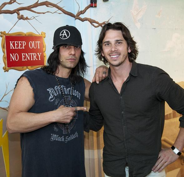 "Ben Flajnik Enjoys a ""Bachelor"" Night Out at CRISS ANGEL Believe"