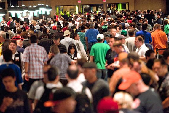 Crowd at WSOP
