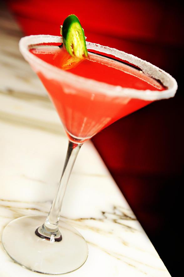 Celebrate Valentine's Day at Tabu Ultra Lounge with Three Aphrodisiac-Laced Cocktails