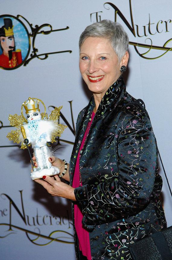Cynthia Gregory at the premiere of Nevada Ballet Theater's The Nutcracker
