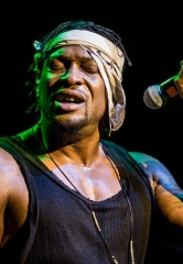 D'Angelo and the Vanguard perform at The Chelsea at The Cosmopolitan of Las Vegas