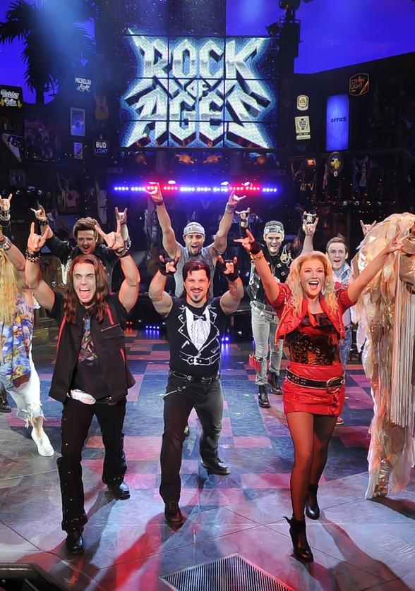ROCK OF AGES Keeps The Venetian Rockin' All Week with Nightly Performances Beginning Nov. 3