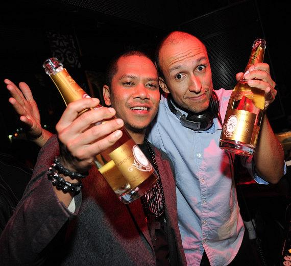 DJ Chuckie and DJ Vice at TAO