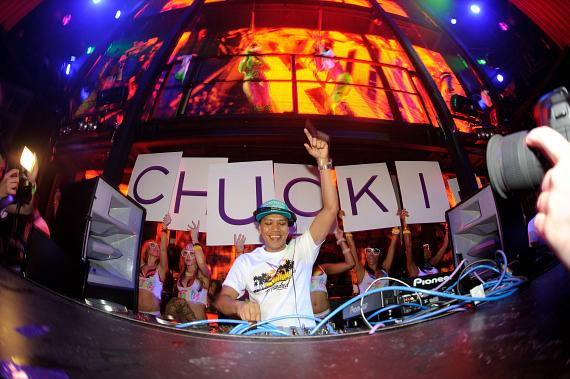 DJ Chuckie at Marquee