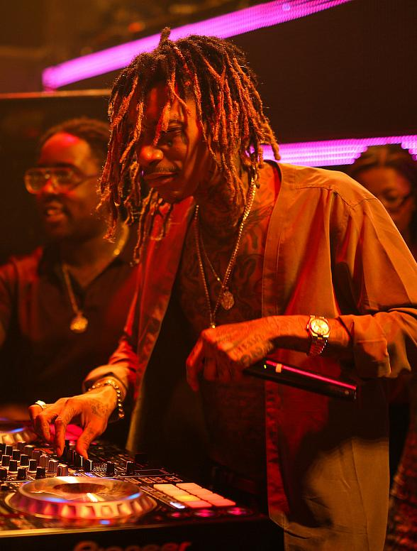 Wiz Khalifa aka DJ Daddy Kat performs at TAO Friday