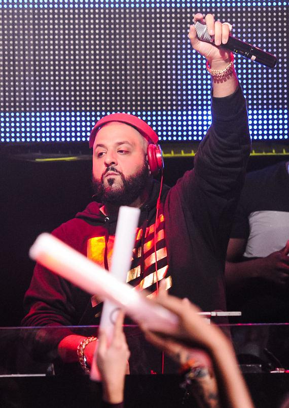 DJ Khaled performs at TAO Nightclub for Worship Thursdays