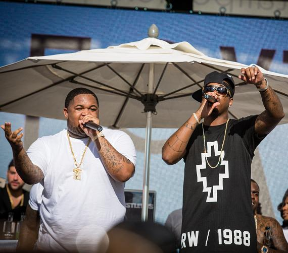 DJ Mustard and Jeremih rock the stage at Foxtail Pool Club