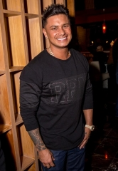 DJ Pauly D Spotted at Grand Opening of Lucky Foo's Restaurant & Bar in Green Valley