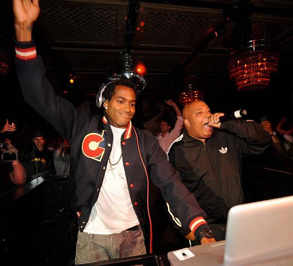 DJ Ruckus and Rev Run at LAVO
