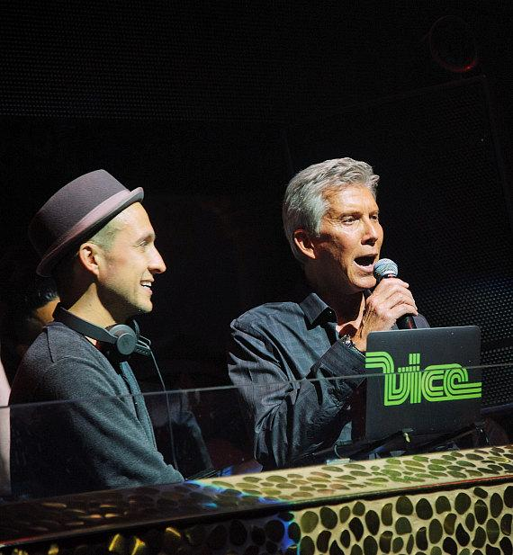 DJ Vice and Michael Buffer at TAO