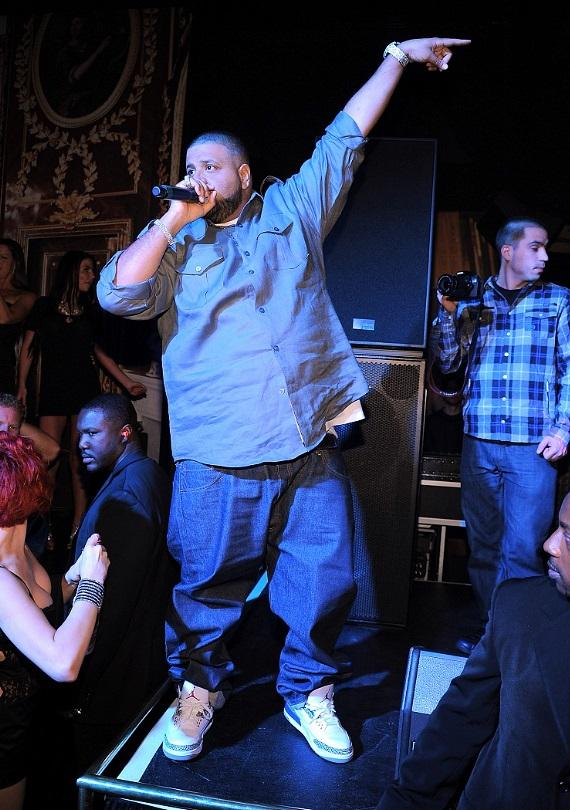 DJ Khaled performs live at Gallery Nightclub in Las Vegas