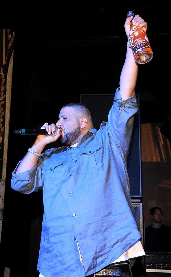 DJ Khaled performs and spins at Gallery Nightclub inside Planet Hollywood