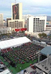 Downtown Las Vegas Events Center Will Become a Football Fan's Dream for Third Annual Big Game Bash, Feb. 4