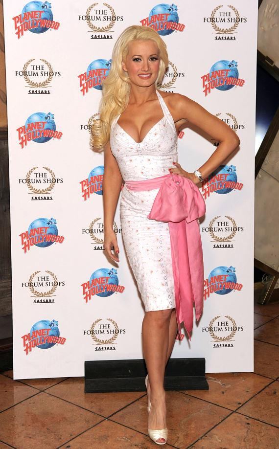 Holly Madison at Planet Hollywood Restaurant