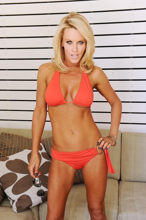 Jenny McCarthy at the Palms Place Pool