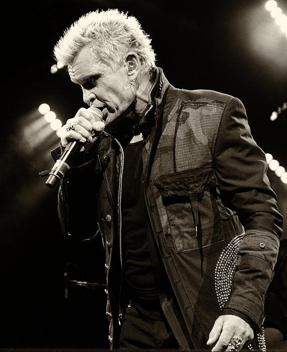 Billy Idol performs at House of Blues in Mandalay Bay Resort and Casino
