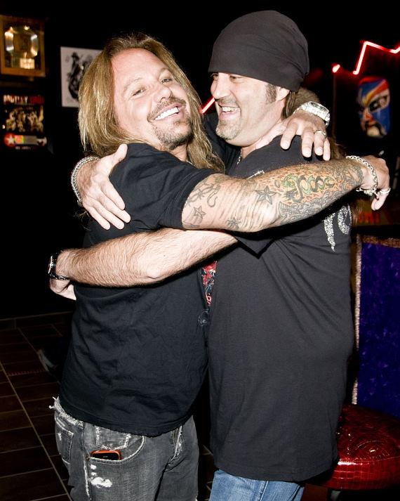 Vince Neil Celebrates Grand Opening of Vince Neil Ink at The Rio