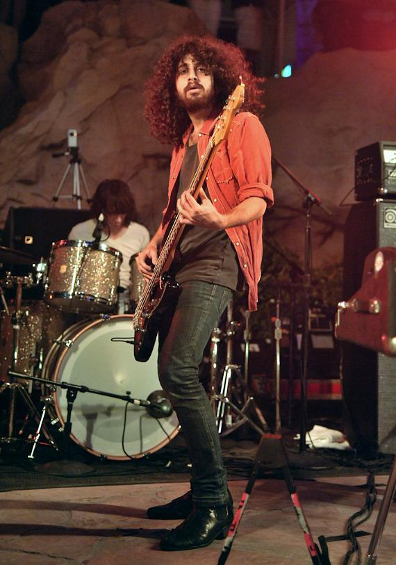 Wolfmother performs at Friday Night Live at The Hard Rock Hotel