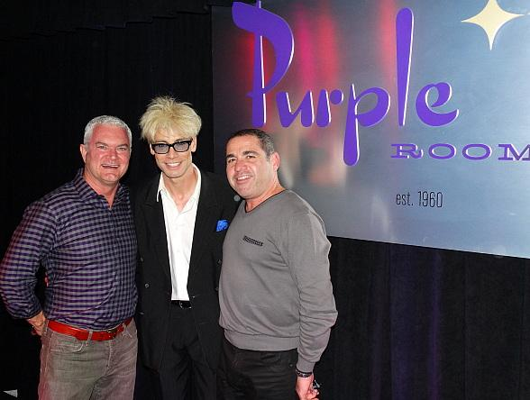 Murray Performs for Sold-Out Crowd at The Purple Room in Palm Springs