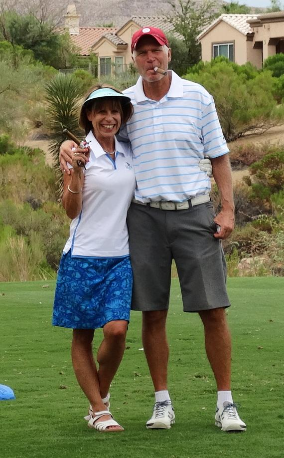"""Golfers at 'Beggin for Golf"""" benefit for Friends For Life Humane Society"""