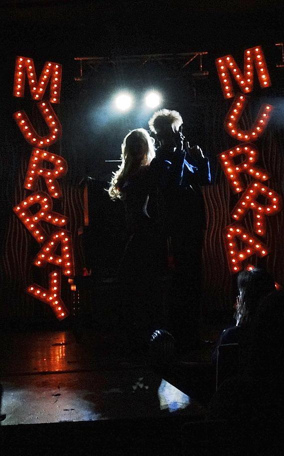Murray and Chloe close the show at the Sin City Theater in Planet Hollywood Las Vegas