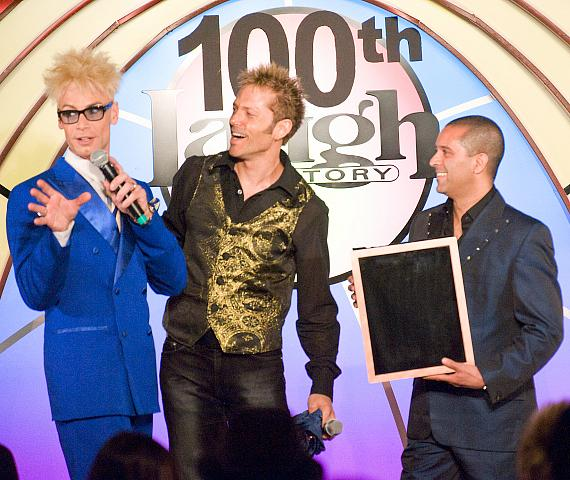 America's Got Talent performer Jarrett & Raja bring Murray an empty frame