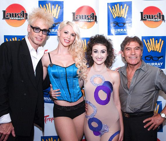 Murray, Chloe, Jasmine Valencia and Nino Frediani