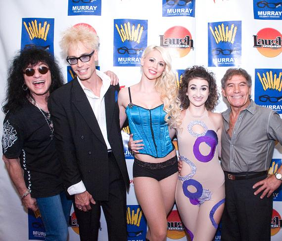 Paul Shortino, Murray, Chloe, Jasmine Valencia and Nino Frediani
