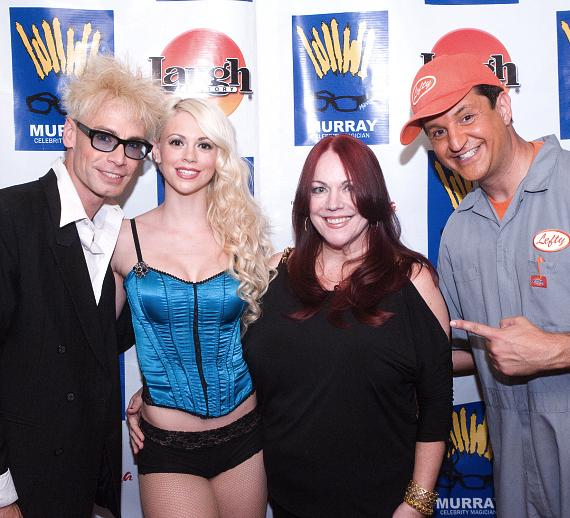 Murray, Chloe, Wendy Mazaros ('Vegas Rag Doll Author') and Lefty