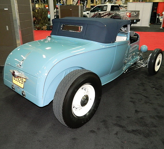 """The Contender"" 1929 Ford Model A Roadster at Barrett-Jackson"