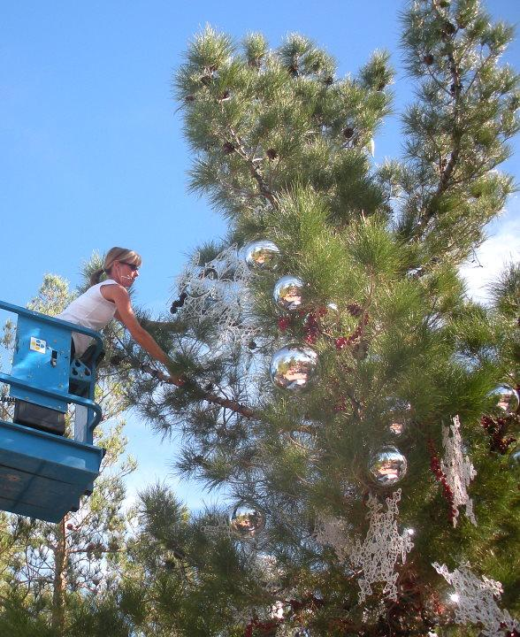 The Venetian and The Palazzo decorate a holiday tree for Opportunity Village's annual Magical Forest