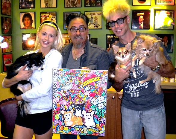 Artist Tommy Vinci Surprises Murray & Chloe with a Painting