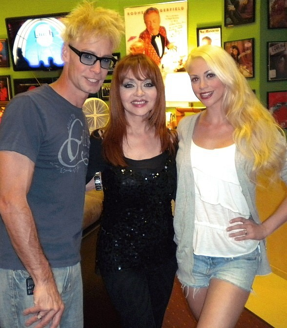 Murray SawChuck, Judy Tenuta and Chloe Louise Crawford