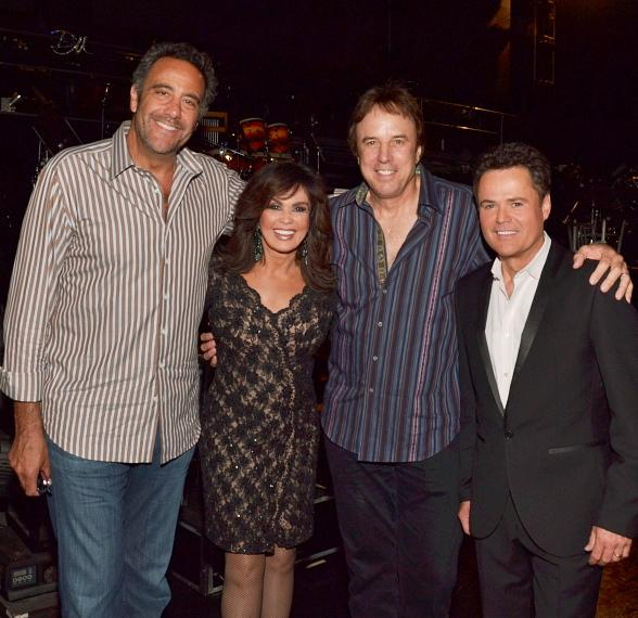 Brad Garrett and Kevin Nealon Visit Donny & Marie at Flamingo Las Vegas