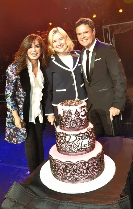 Donny & Marie Celebrate Fifth Anniversary at Flamingo Las Vegas