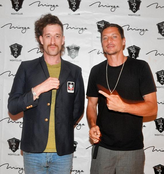 Beardo and Dirt Nasty (aka Simon Rex)
