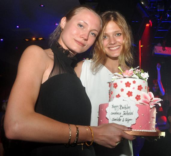 Constance Jablonski & Charlotte Di Calypso celebrate Birthdays at 1 OAK Nightclub at The Mirage