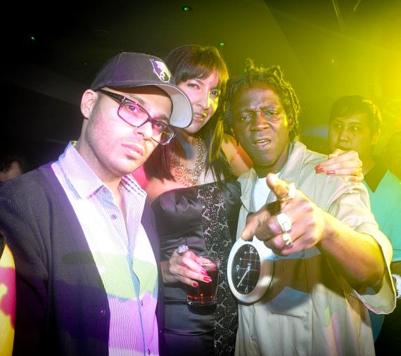 Flava Flav at 1 OAK Nightclub at The Mirage