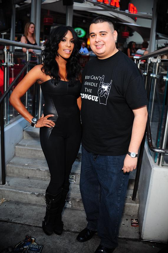 Robert and Cheaza at PBR Rock Bar & Grill in Las Vegas