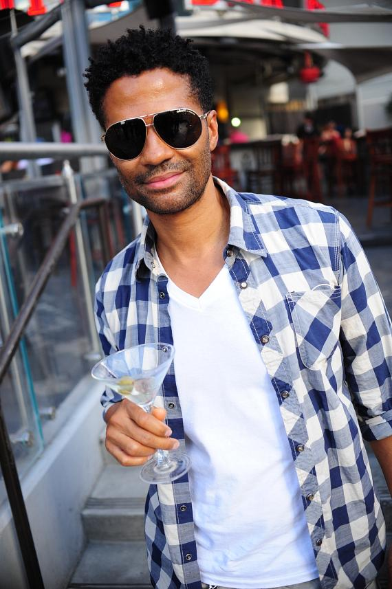 Eric Benét outside PBR Rock Bar at Planet Hollywood in Las Vegas