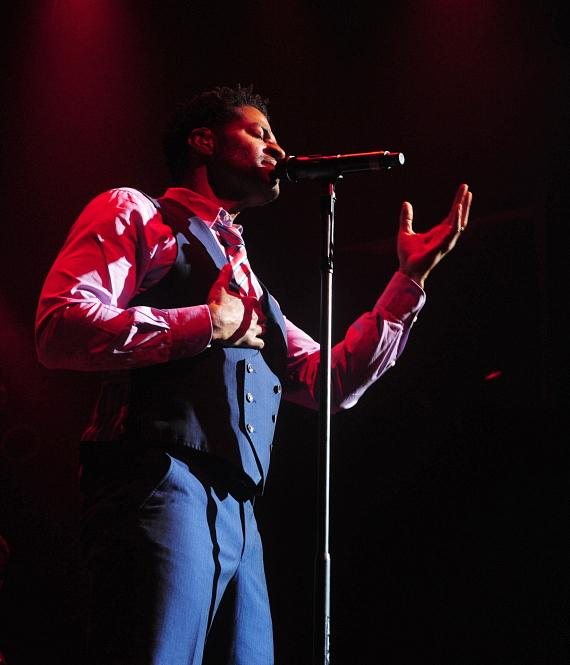 Eric Benét in concert at House of Blues