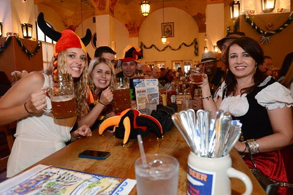 Oktoberfest celebration at Hofbräuhaus Las Vegas