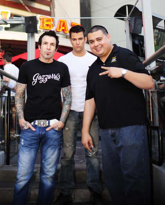 Phil Varone, Jeff Civillico and Robert Blasi at PBR Rock Bar