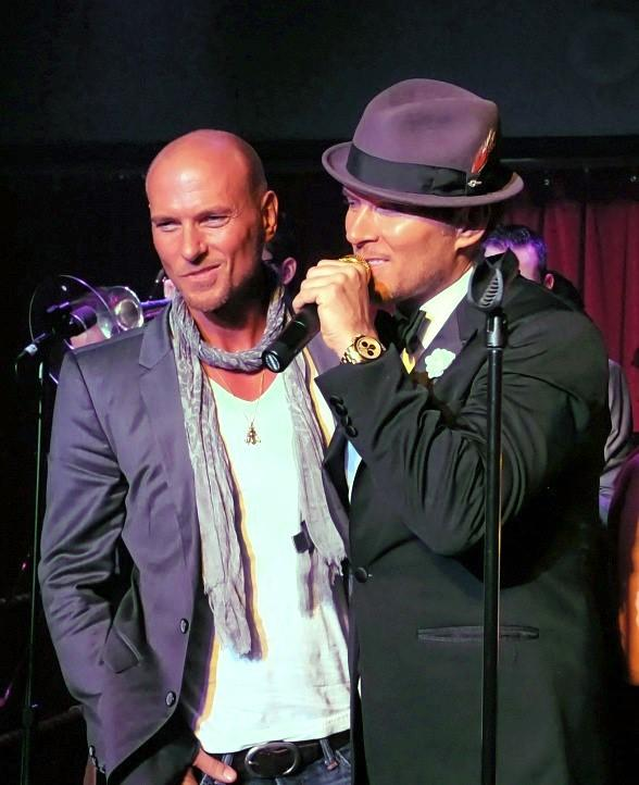 Matt and Luke Goss Celebrate Their Birthday at Caesars Palace in Las Vegas
