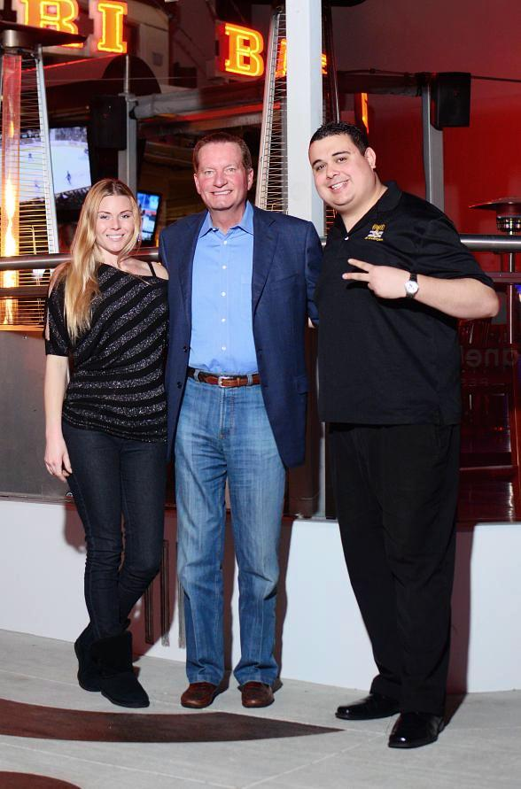 "Christina ""CC"" Christensen, Jim Fassel and Robert Blasi"