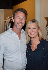 "Savage Garden's Daniel Jones at Olivia Newton-John's ""Summer Nights"" at Flamingo Las Vegas"
