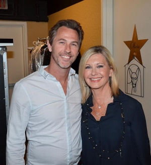 Savage Garden's Daniel Jones at Olivia Newton-John's